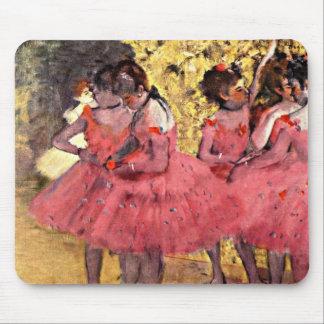Desgaseifique: Os dançarinos cor-de-rosa Mouse Pad