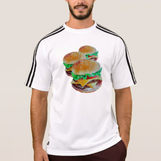 Desgaste ativo do Hamburger, design original do Camiseta