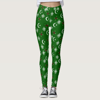 Desgaste legging super do Natal