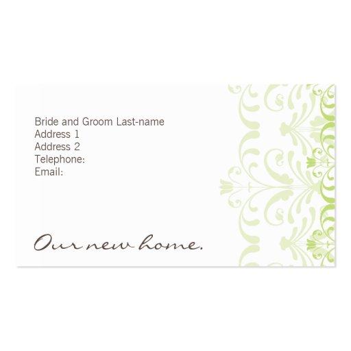 DESIGN 04 - Cor: Verde & chocolate Modelos Cartão De Visita