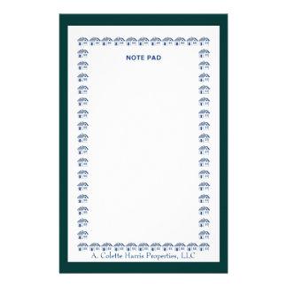 Design 10 da almofada de nota papelaria