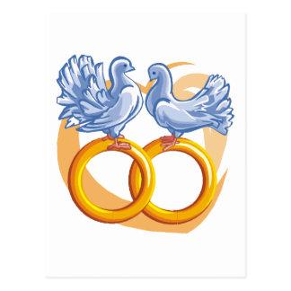 Design 15 do casamento cartão postal