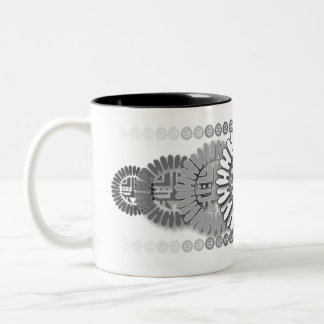 Design 1 da caneca de Sun do Petroglyph