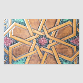 Design #1 de Alhambra Adesivo Retangular