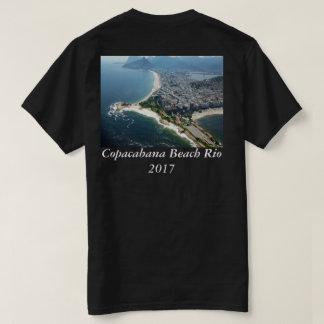 Design 2017 da foto da praia de Rio de Janeiro Camiseta