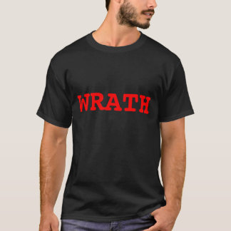 Design 2 da camisa do Wrath