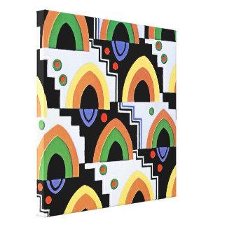 Design #4 @ Emporio Moffa do art deco Impressão Em Tela Canvas