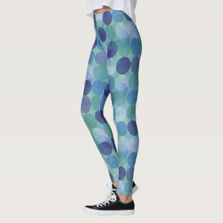 Design à moda das bolinhas leggings