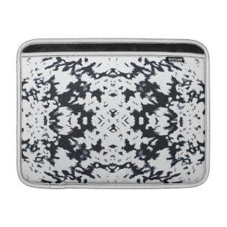 Design à moda do motivo da forma de Calista no Bolsa De MacBook
