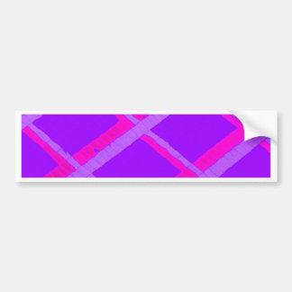 Design abstrato adesivo para carro