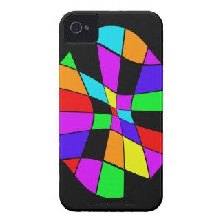Design abstrato colorido capas para iPhone 4 Case-Mate