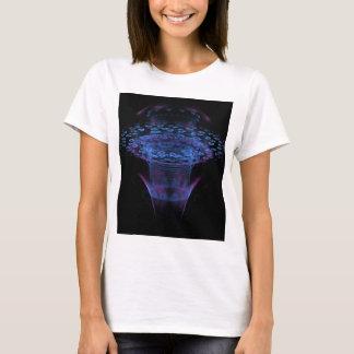 Design abstrato do Fractal do Wormhole Camiseta