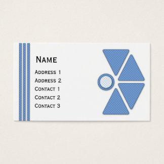 Design abstrato moderno bonito cartão de visitas