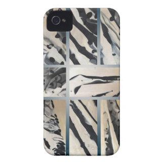 Design abstrato original das bolinhas capas para iPhone 4 Case-Mate