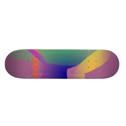 Design abstrato original skate