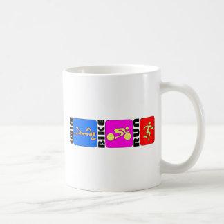 Design abundante da TRI COR do funcionamento da Caneca De Café