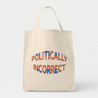 Design afligido polìtica incorreto bolsa tote