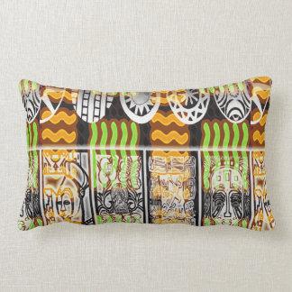 Design africano do teste padrão almofada lombar