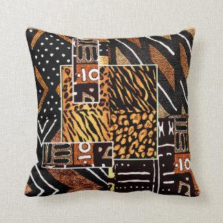 Design africano tribal almofada
