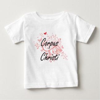 Design artístico da cidade de Corpus Christi Texas T-shirt