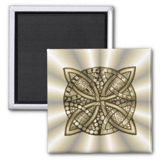 Design artístico original do nó celta do ouro ima