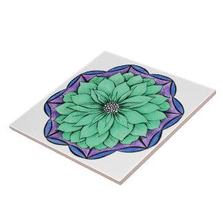 Design AZUL da POINSÉTIA Azulejos De Cerâmica