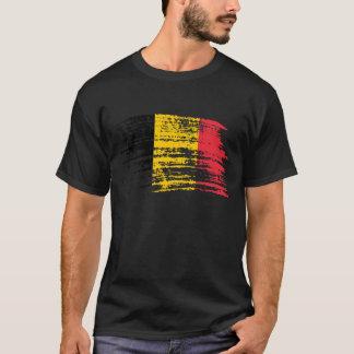 Design belga legal da bandeira camiseta