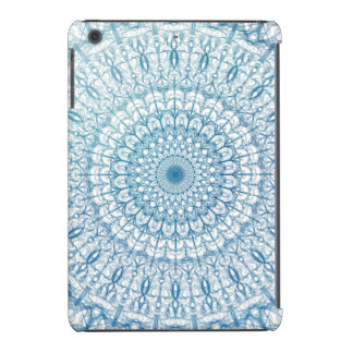 Design boémio do Fractal do azul do céu e de Capa Para iPad Mini Retina