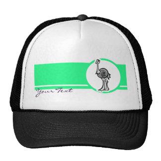 Design bonito da avestruz bonés