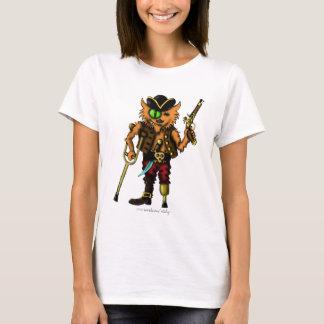 Design bonito do t-shirt do pirata engraçado do camiseta