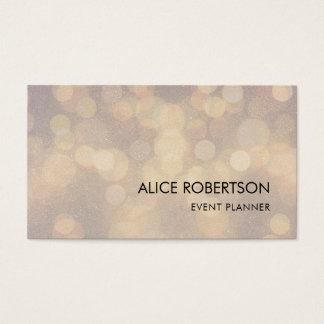 Design borrado brilhante cartão de visitas