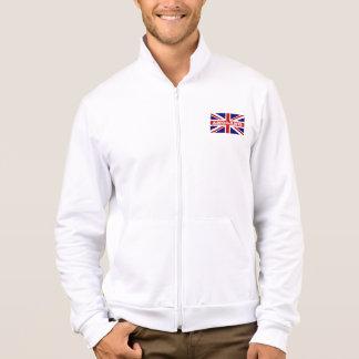 Design britânico das jaquetas   Union Jack da Jaqueta Com Estampa