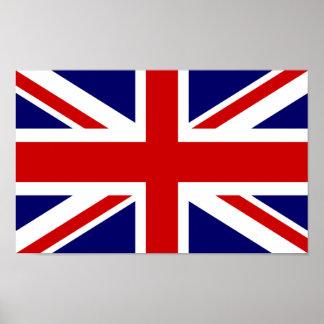 Design britânico do jaque de união do poster | da
