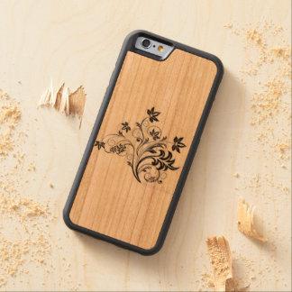 design capa de cereja bumper para iPhone 6
