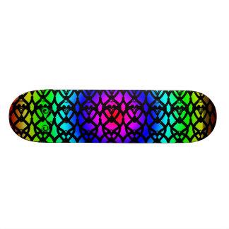 Design circular da plataforma do skate do