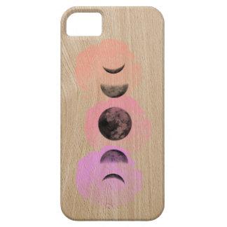 Design claro da capa de telefone do Woodgrain das
