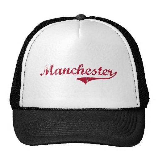 Design clássico de Manchester New-jersey Boné