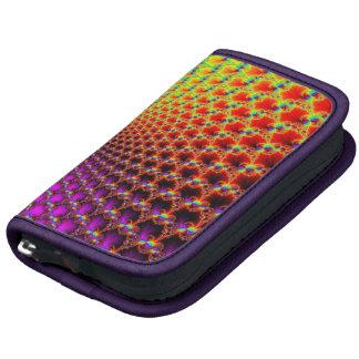 Design colorido arco-íris do Fractal Organizadores