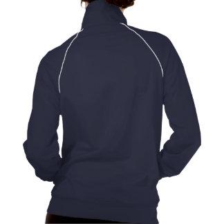 Design colorido do hibiscus jaqueta com estampa