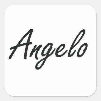 Design conhecido artístico de Angelo Adesivo Quadrado