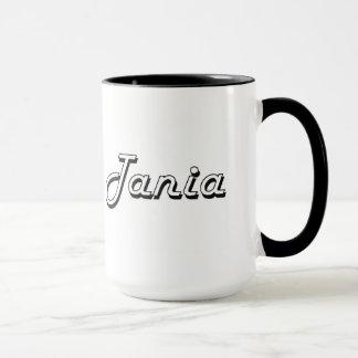 Design conhecido retro clássico de Tania Caneca