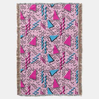 Design cor-de-rosa alto Funky de Memphis Cobertor