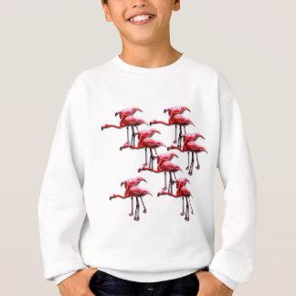 Design cor-de-rosa do pássaro do flamingo agasalho