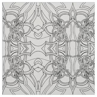 Design criativo (alguma cor) tecido