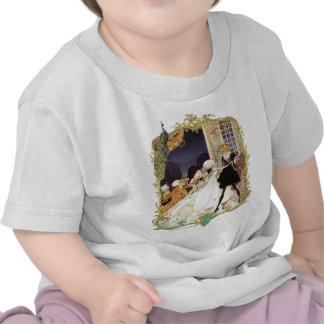 Design da arte do estilo do vintage da bola de tra camiseta