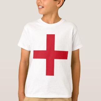 Design da bandeira de Inglaterra Camiseta