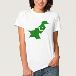 Design da bandeira de país de Paquistão T-shirt