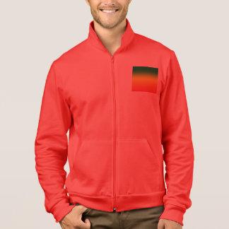 Design da bandeira do arco-íris da reggae jaqueta com estampa