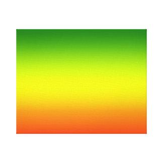 Design da bandeira do arco-íris da reggae impressão em tela