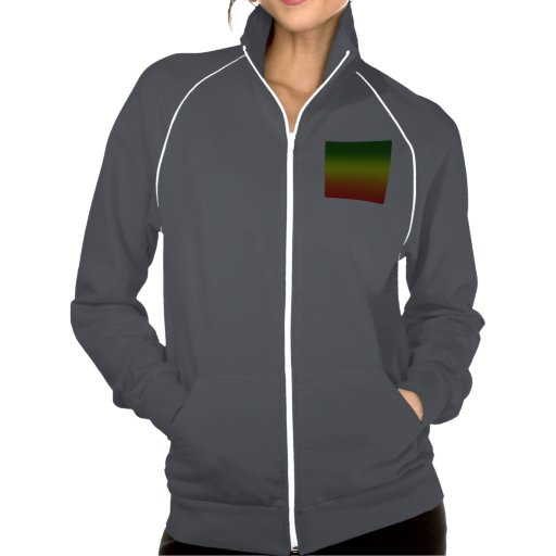 Design da bandeira do arco-íris da reggae jaquetas